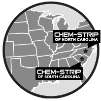 Map of Carolina Chem-Strip
